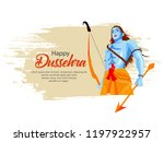 creative banner poster for lord ... | Shutterstock .eps vector #1197922957
