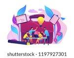 business team work together... | Shutterstock .eps vector #1197927301