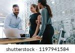 multi ethnic business... | Shutterstock . vector #1197941584