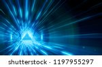 abstract triangle light... | Shutterstock . vector #1197955297