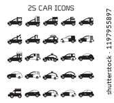 car icons set | Shutterstock .eps vector #1197955897
