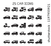 car icons set | Shutterstock .eps vector #1197955921