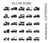 car icons set | Shutterstock .eps vector #1197955924