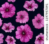 floral seamless background... | Shutterstock .eps vector #1197957091