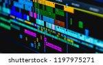 video time line | Shutterstock . vector #1197975271