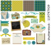 scrapbook design elements  ... | Shutterstock .eps vector #119797939