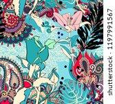 original trendy seamless... | Shutterstock . vector #1197991567