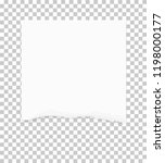torn paper edges for background.... | Shutterstock .eps vector #1198000177