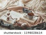 still life details in home... | Shutterstock . vector #1198028614