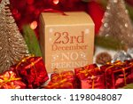 december 23th in advent...   Shutterstock . vector #1198048087
