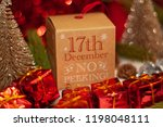 december 17th in advent...   Shutterstock . vector #1198048111