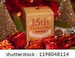 december 15th in advent...   Shutterstock . vector #1198048114