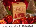 december 8th in advent...   Shutterstock . vector #1198048141