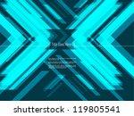 x modern design template | Shutterstock .eps vector #119805541