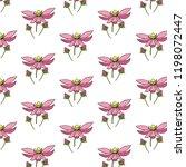 flower gentle beautiful...   Shutterstock .eps vector #1198072447