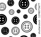 seamless pattern with black and ... | Shutterstock .eps vector #1198073677