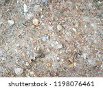 blur small stones and sands on... | Shutterstock . vector #1198076461