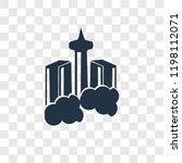 skyscraper vector icon isolated ... | Shutterstock .eps vector #1198112071