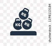 heavy weight vector icon... | Shutterstock .eps vector #1198113184
