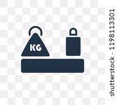 heavy weight vector icon... | Shutterstock .eps vector #1198113301
