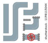 details of the pipeline.... | Shutterstock .eps vector #1198115044