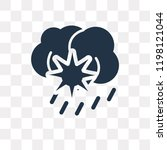 climate vector icon isolated on ... | Shutterstock .eps vector #1198121044