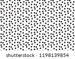 black white scattered dots... | Shutterstock .eps vector #1198139854