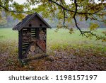 insect hotel or house for... | Shutterstock . vector #1198157197