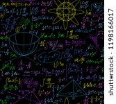 math educational vector... | Shutterstock .eps vector #1198166017