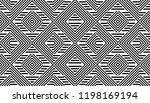 seamless pattern with striped... | Shutterstock .eps vector #1198169194