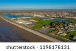 british seaside town aerial...   Shutterstock . vector #1198178131