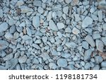 details of stones from coast at ... | Shutterstock . vector #1198181734