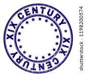 xix century stamp seal imprint... | Shutterstock .eps vector #1198200574