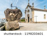 ponte de lima  portugal   circa ... | Shutterstock . vector #1198203601