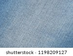close up of texture jeans... | Shutterstock . vector #1198209127