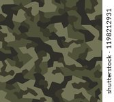 camo seamless geometric pattern.... | Shutterstock .eps vector #1198212931