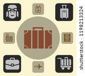 airport icon. airport icons for ...   Shutterstock .eps vector #1198213324