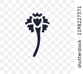 carnation transparent icon.... | Shutterstock .eps vector #1198227571