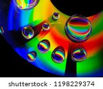 Cd And Water Drops
