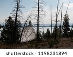 west thumb geyser basin in...   Shutterstock . vector #1198231894