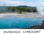 west thumb geyser basin in...   Shutterstock . vector #1198231897