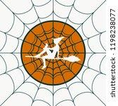 cobweb background. spiderweb... | Shutterstock .eps vector #1198238077