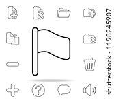 flag icon. web icons universal...