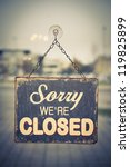 """business closed with """"closed""""... 