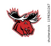mascot icon illustration of...   Shutterstock .eps vector #1198261267