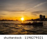 hamburg  germany. tour with the ...   Shutterstock . vector #1198279321