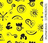 aztecs seamless pattern  paper...   Shutterstock .eps vector #1198282621