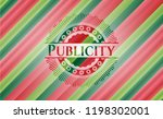 publicity christmas colors... | Shutterstock .eps vector #1198302001