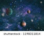 he explosion supernova. bright... | Shutterstock . vector #1198311814