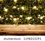 christmas and new year... | Shutterstock . vector #1198315291